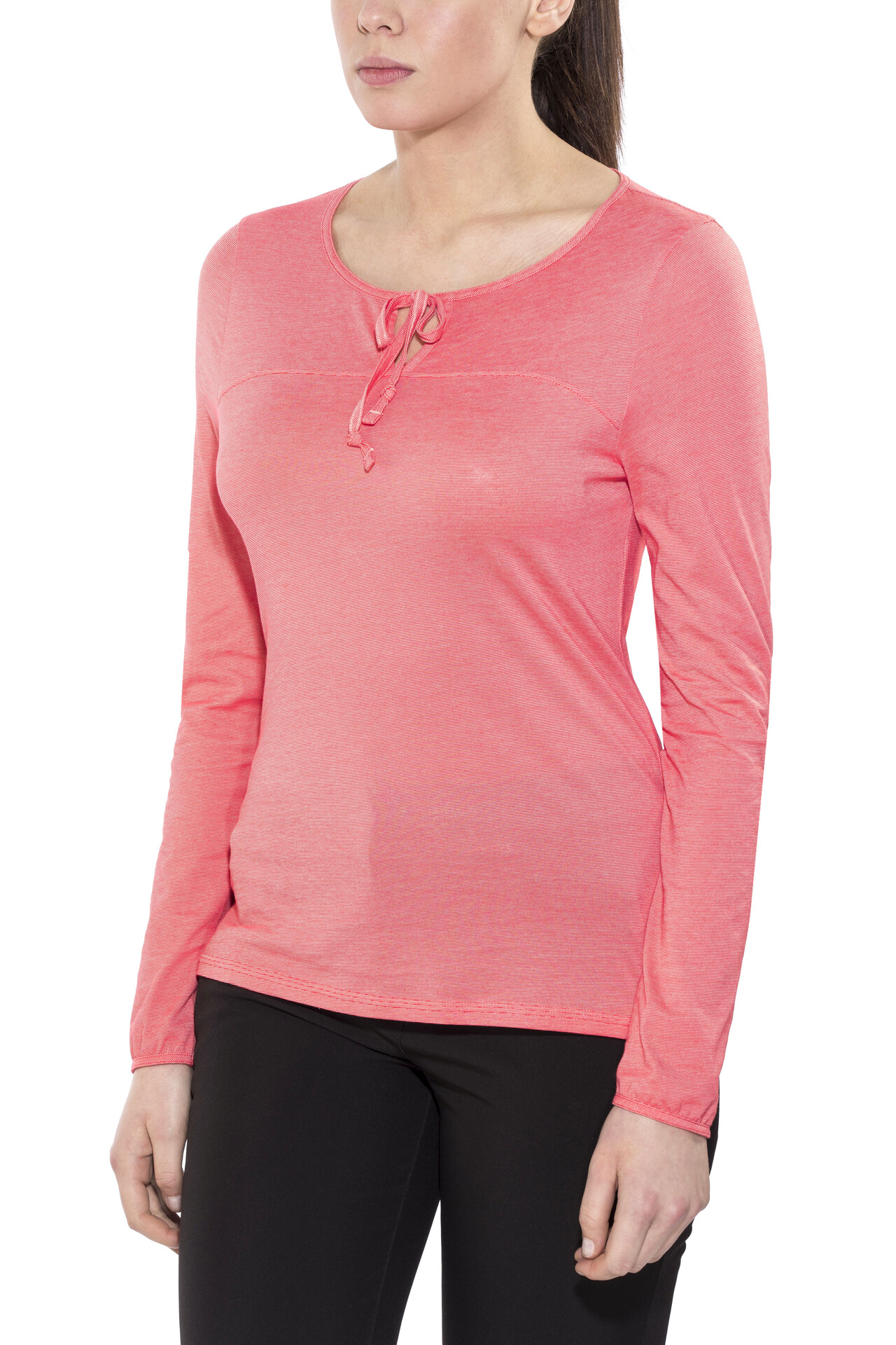 The Rosa Dayspring Face North Mujer Larga Camiseta Manga De q74Uqxwrz8
